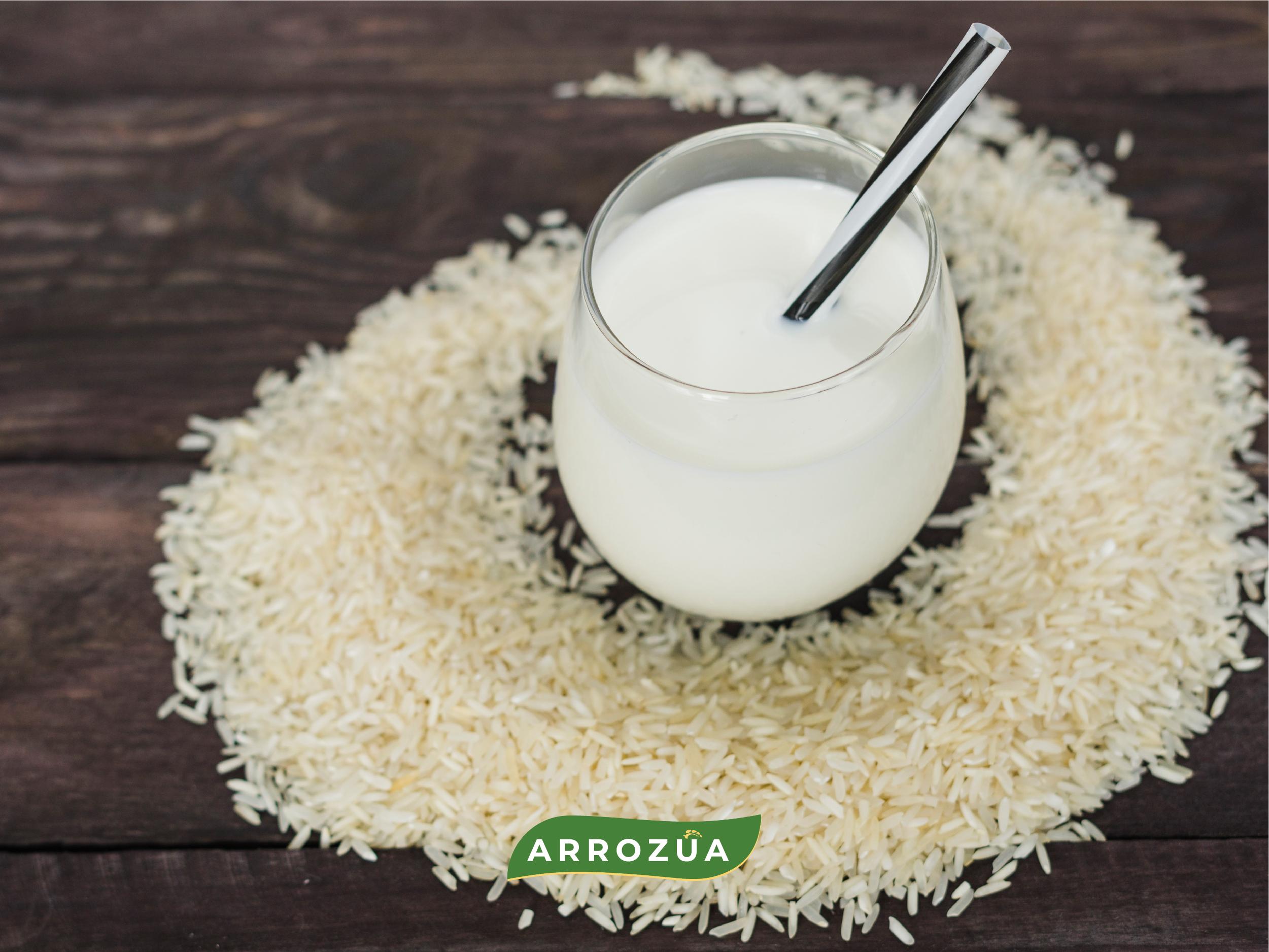 Haz tu propia leche de arroz en casa